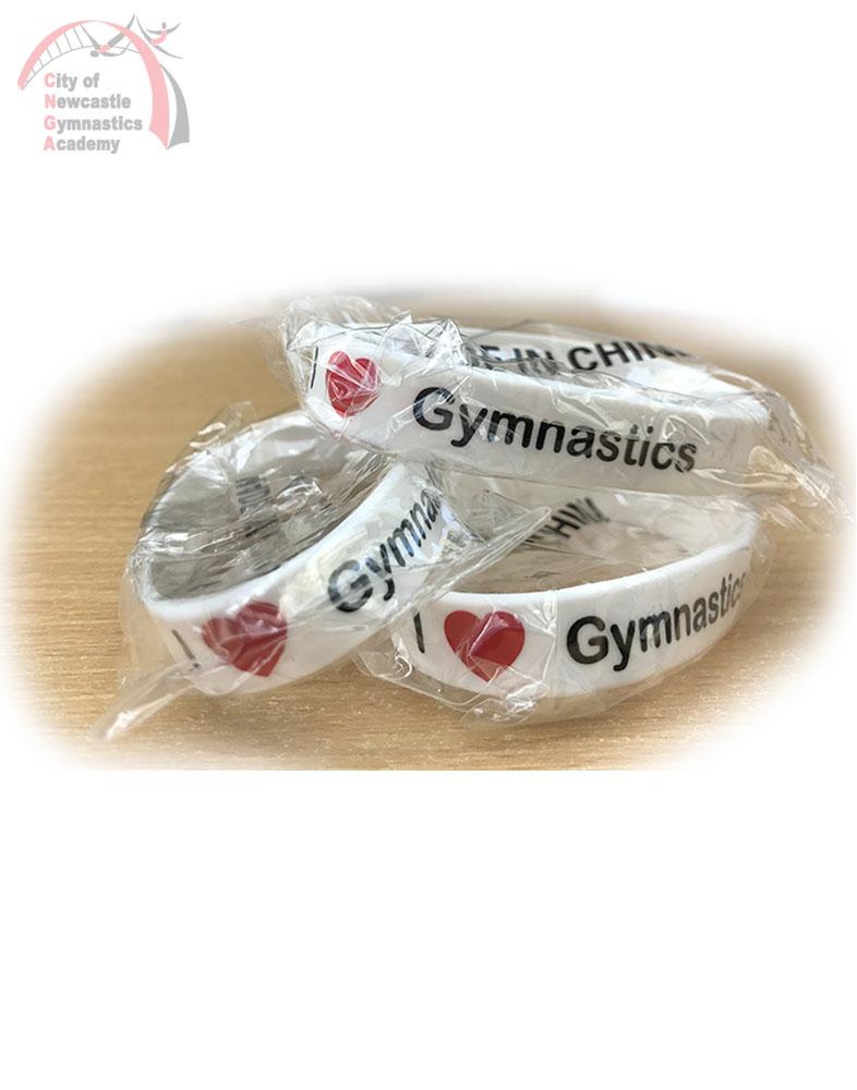 I love Gymnastics wristband